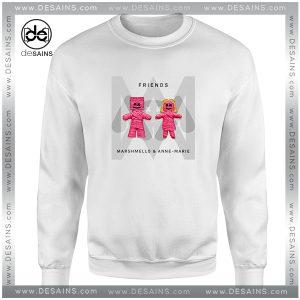 Cheap Graphic Sweatshirt Friends Marshmello Single