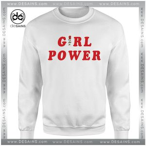 Cheap Graphic Sweatshirt Girl Power Shirt