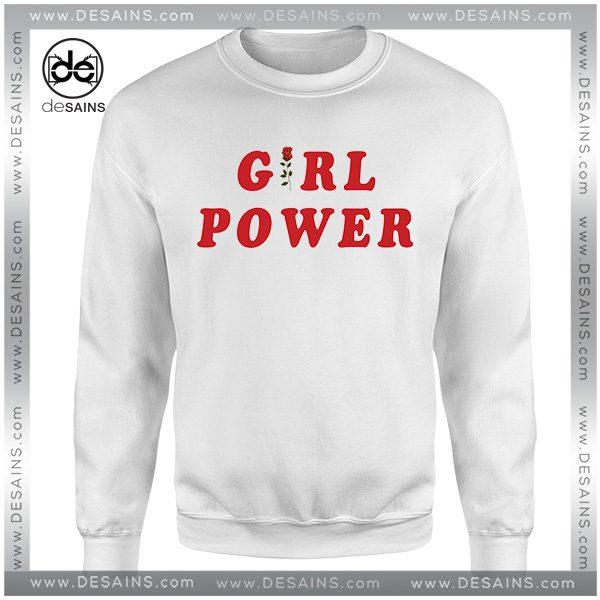 Cheap Graphic Sweatshirt Girl Power Shirt