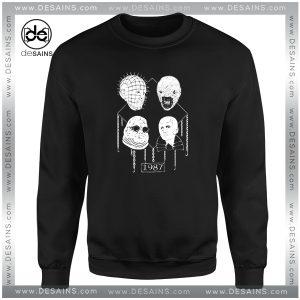 Cheap Graphic Sweatshirt Hellraiser Welcome to Hell 1987