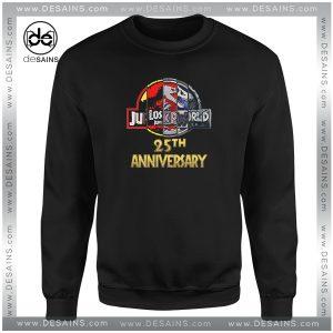 Cheap Graphic Sweatshirt Jurassic Park 25th Anniversary