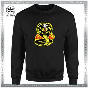 Cheap Graphic Sweatshirt Karate Kid Cobra Kai Dojo