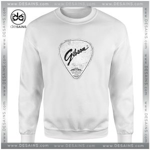 Cheap Graphic Sweatshirt Legendary Guitar Pick Mashup Gibson