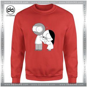 Cheap Graphic Sweatshirt Love Bite Eat Food John