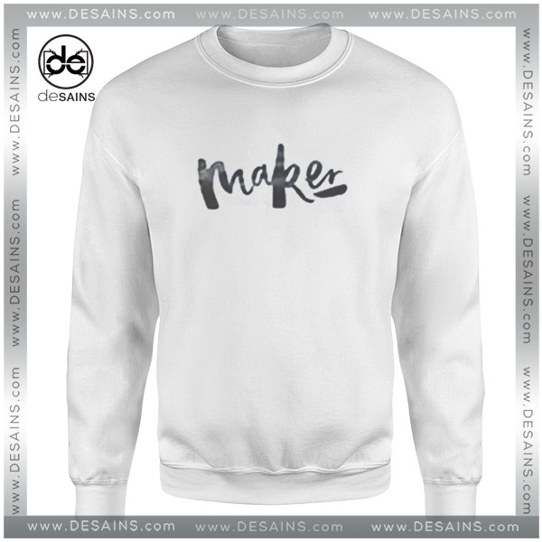 Cheap Graphic Sweatshirt Maker Girl Custom Crewneck Sweater