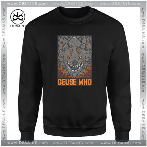Cheap Graphic Sweatshirt Monster Hunter Bazelgeuse Geuse Who