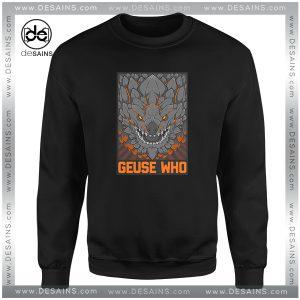 Cheap Graphic Sweatshirt Monster Hunter Bazelgeuse Geuse Who