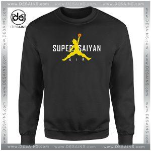 Cheap Graphic Sweatshirt Nike Air Super Saiyan Paordy Dragon Ball
