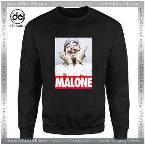 Cheap Graphic Sweatshirt Post Malone American rapper