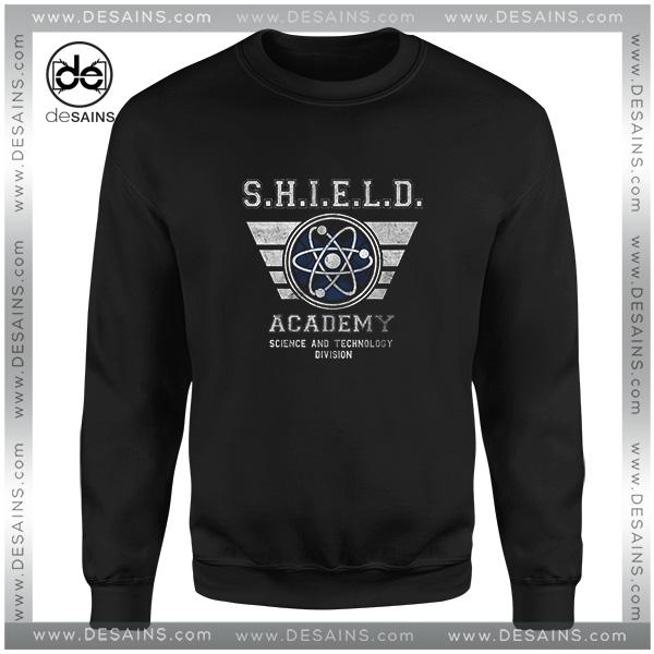 a107ca1773 Cheap Graphic Sweatshirt SHIELD Academy Marvel Cinematic Universe