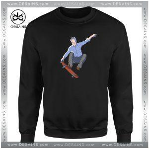 Cheap Graphic Sweatshirt Stellan Skarsgård Stellar Skateboard