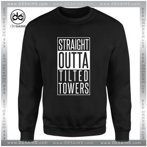 Cheap Graphic Sweatshirt Straight Outta Fortnite Tilted Towers