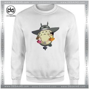 Cheap Graphic Sweatshirt Totoro Studio Ghibli Anime Funny