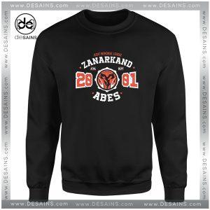 Cheap Graphic Sweatshirt Zanarkand Abes Athletic Shirt Distressed