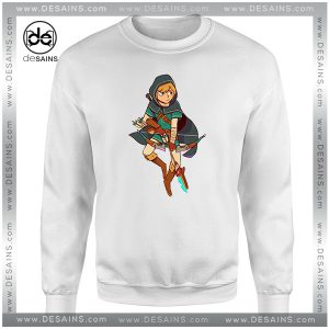 Cheap Graphic Sweatshirt Zelda Breath Of The Wild
