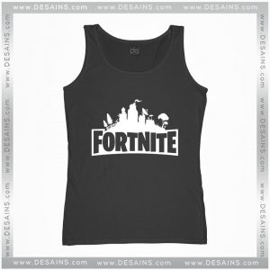 Cheap Graphic Tank Top Fortnite Survival Game Logo