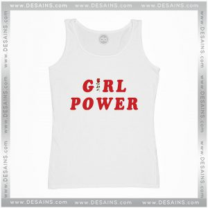 Cheap Graphic Tank Top Girl Power Shirt