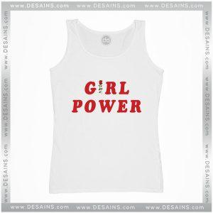 Cheap Graphic Tank Top Girl Power Shirt