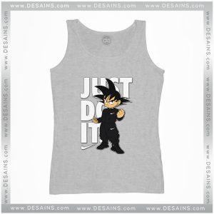 Cheap Graphic Tank Top Goku Just Do it Dragon Ball