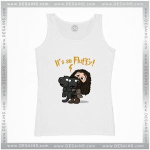 Cheap Graphic Tank Top Harry Potter Its So Fluffy Size S-3XL