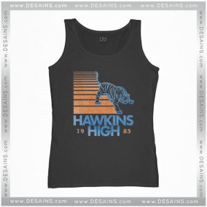 Cheap Graphic Tank Top Hawkins High Stranger Things
