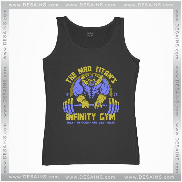 Cheap Graphic Tank Top Infinity Gym Thanos Avengers Infinity War
