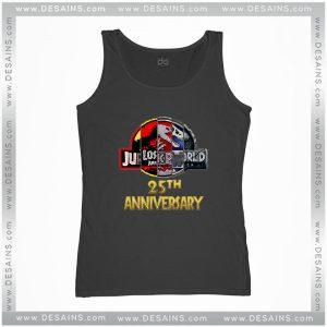 Cheap Graphic Tank Top Jurassic Park 25th Anniversary