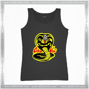 Cheap Graphic Tank Top Karate Kid Cobra Kai Dojo