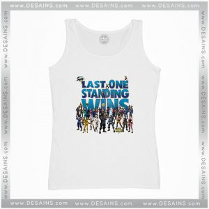 Cheap Graphic Tank Top Last One Standing Wins Fortnite Battle Royale