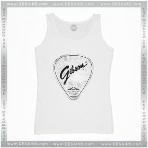 Cheap Graphic Tank Top Legendary Guitar Pick Mashup Gibson