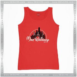 Cheap Graphic Tank Top Malt Whiskey not Walt Disney