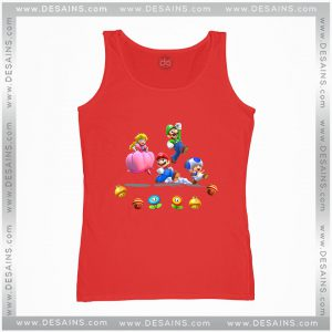 Cheap Graphic Tank Top Mario And Friends Characters