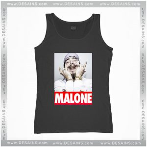 Cheap Graphic Tank Top Post Malone American rapper