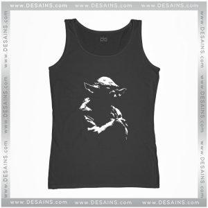 Cheap Graphic Tank Top Star Wars Master Yoda Clothes