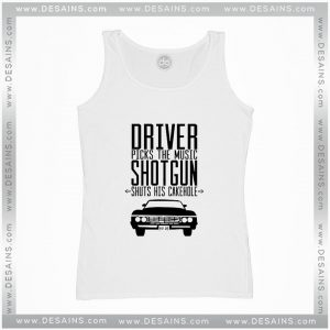 Cheap Graphic Tank Top Supernatural Driver Picks The Music Shotgun Shuts