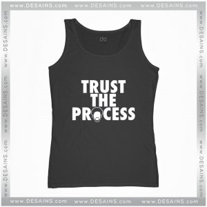 Cheap Graphic Tank Top Trust The Process Philadelphia 76ers