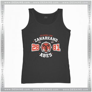 Cheap Graphic Tank Top Zanarkand Abes Athletic Shirt Distressed