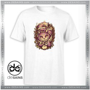 Cheap Tee Shirt Cheshire Cat Alice In Wonderland Disney Tshirt Size S-3XL