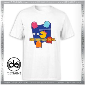 Cheap Tee Shirt Dont mess with the Ms Pacman Tshirt Size S-3XL