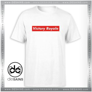 Cheap Tee Shirt Fortnite Battle Royale Victory Royale Supreme Tshirt Size S-3XL