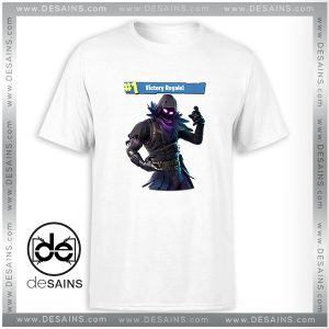 Cheap Tee Shirt Fortnite Raven Victory Royale Tshirt Size S-3XL