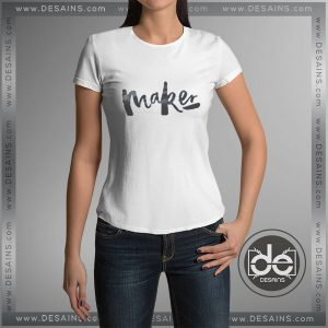 Cheap Tee Shirt Girl Maker Tshirt Women Size S-3XL