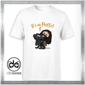 Cheap Tee Shirt Harry Potter Its So Fluffy Tshirt Size S-3XL