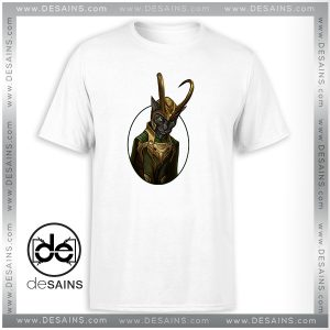 Cheap Tee Shirt Lokitty Funny Loki Marvel Avengers Tshirt Size S-3XL