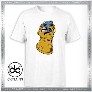 Cheap Tee Shirt Thanos Kill Captain America Tshirt Size S-3XL