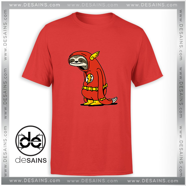 5df3209c3 Cheap-Tee-Shirt-The-Flash-Sloth-Slowest-Tshirt-Size-S-3XL.jpg
