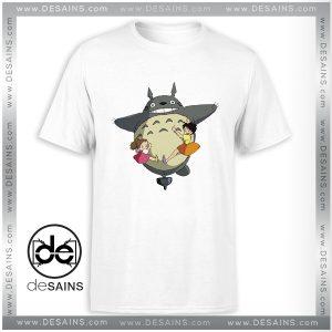 Cheap Tee Shirt Totoro Studio Ghibli Anime Funny Tshirt Size S-3XL