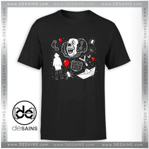 Cheap Tee Shirt Welcome to Derry Pennywise Tshirt Size S-3XL