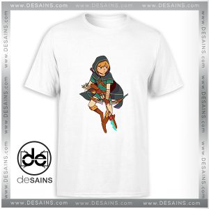 Cheap Tee Shirt Zelda Breath Of The Wild Tshirt Size S-3XL