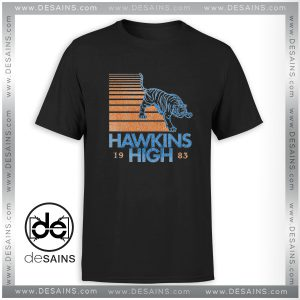 Tee Shirt Hawkins High Stranger Things Tee Shirt Size S-3XL
